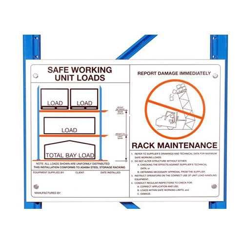 Dexion Pallet Racking Safe Working Loads Safe Working