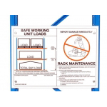 Maintenance and Load Safety Signs